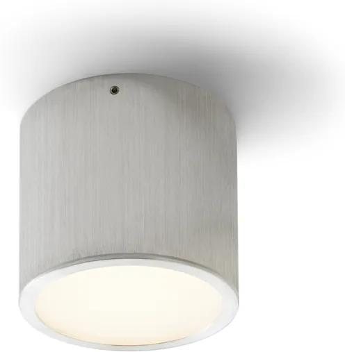 RENDL R10193 MERA LED felületre szerelhető lámpatest, downlight szálcsiszolt alumínium