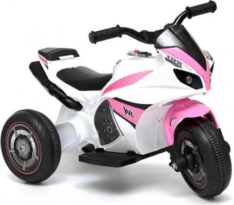 Inlea4Fun GTM 5588 Elektromos háromkerekű - rózsaszín