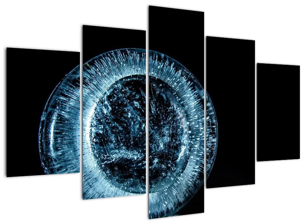 Egy jég csepp képe (150x105 cm)