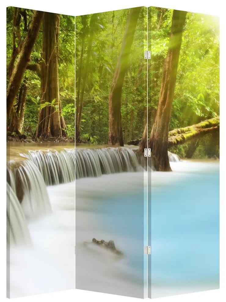 Paraván - Huai Mae Kamin vízesés erdőben (135x180 cm)