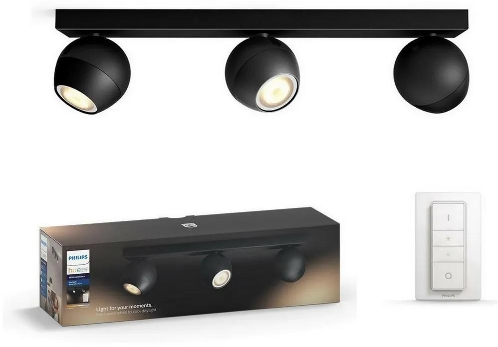 Philips Philips 50473/30/P6 - LED Szabályozható spotlámpa HUE BUCKRAM 3xGU10/5W/230V P3775