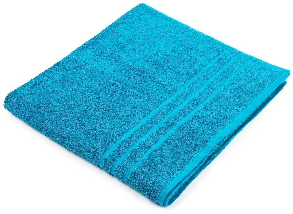 Exclusive Comfort XL törölköző, kék, 100 x 180 cm