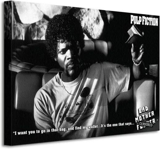 Vászonkép Pulp Fiction (Bad Mother F**ker) 40x30cm WDC92165