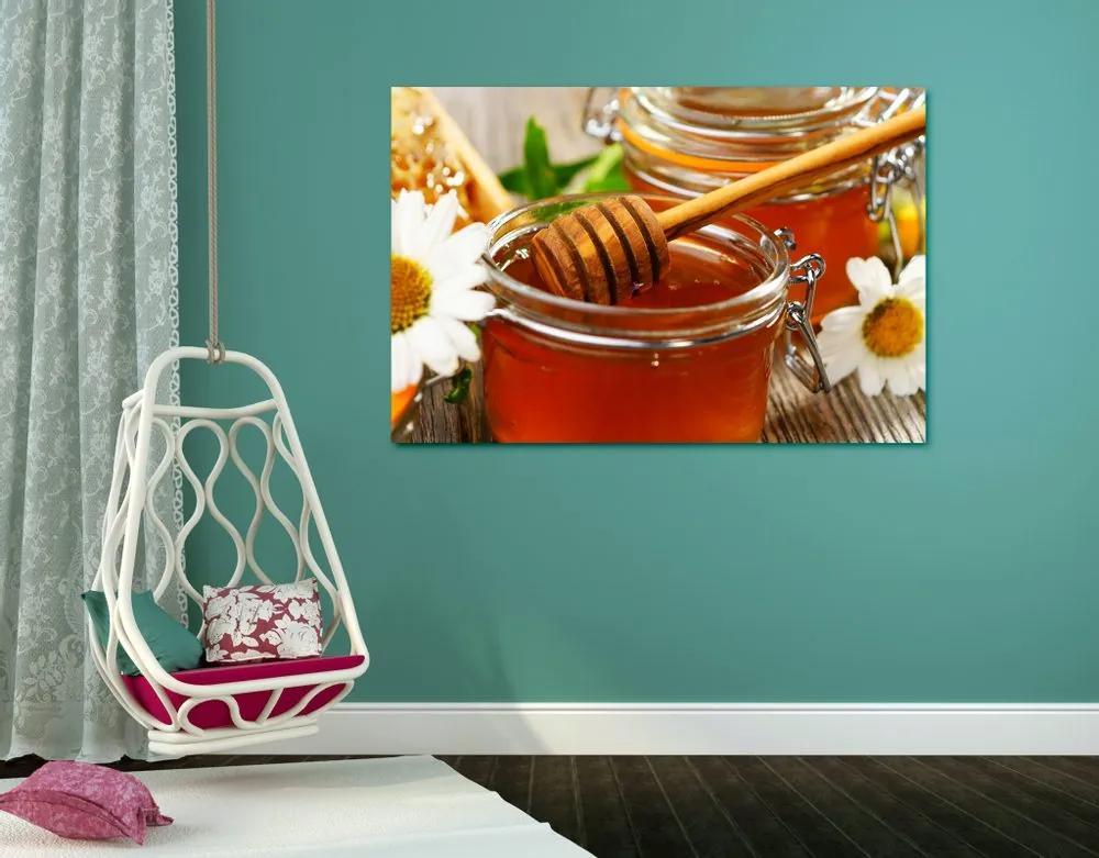 Kép egy bögre méz