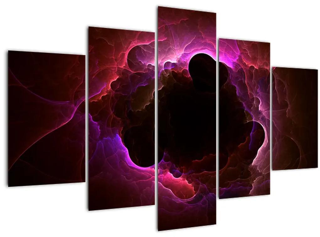 Kép - felhős absztrakció (150x105 cm)