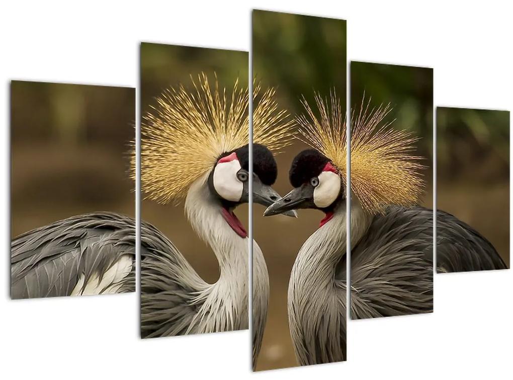Madarak képe (150x105 cm)