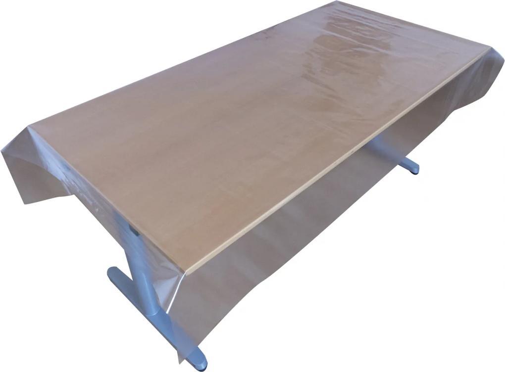 Viaszosvászon asztalterítő-Prémium minőség 140x140 cm(Átlátszó)