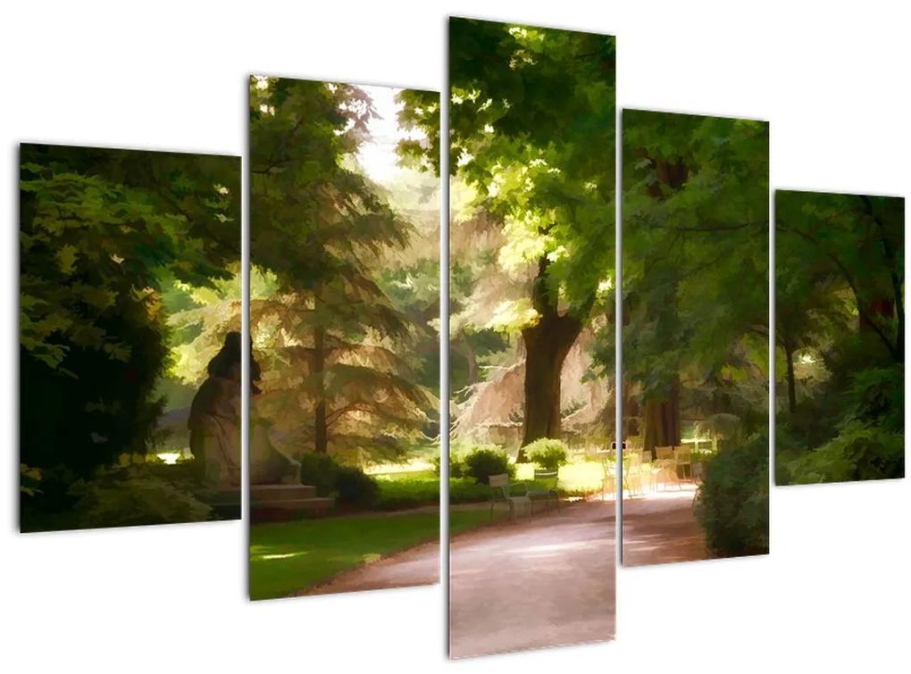 Park képe (150x105 cm)