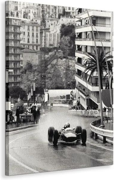 Vászonkép Futam Monaco Grand Prix Anon 60x80cm WDC44959