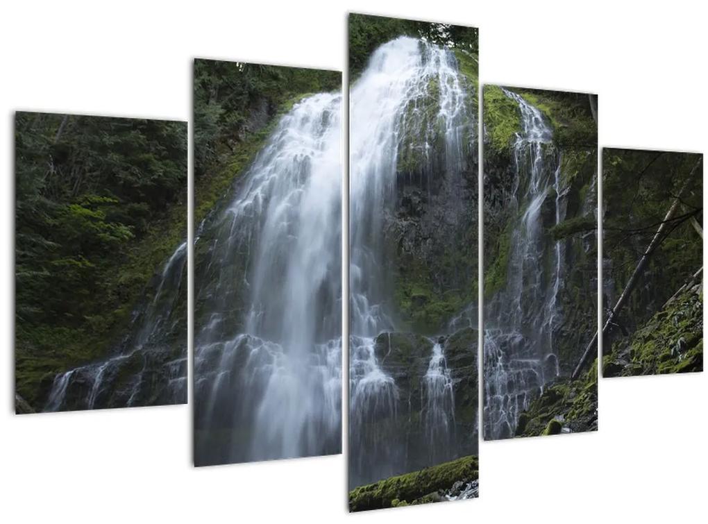 Vízesés képe (150x105 cm)