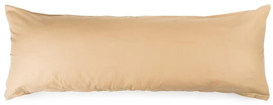 4Home Pótférj Relaxációs párnahuzat bézs színű, 50 x 150 cm