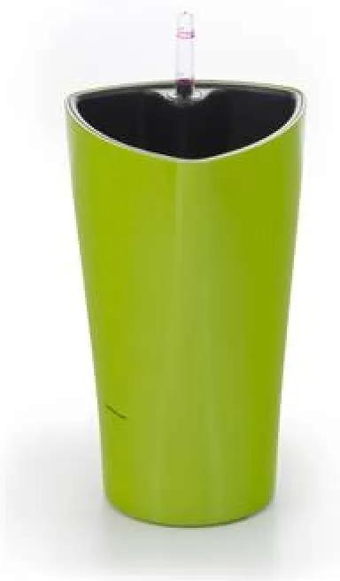 G21 Trio önöntöző kaspó, zöld, 26 cm - (6392512)