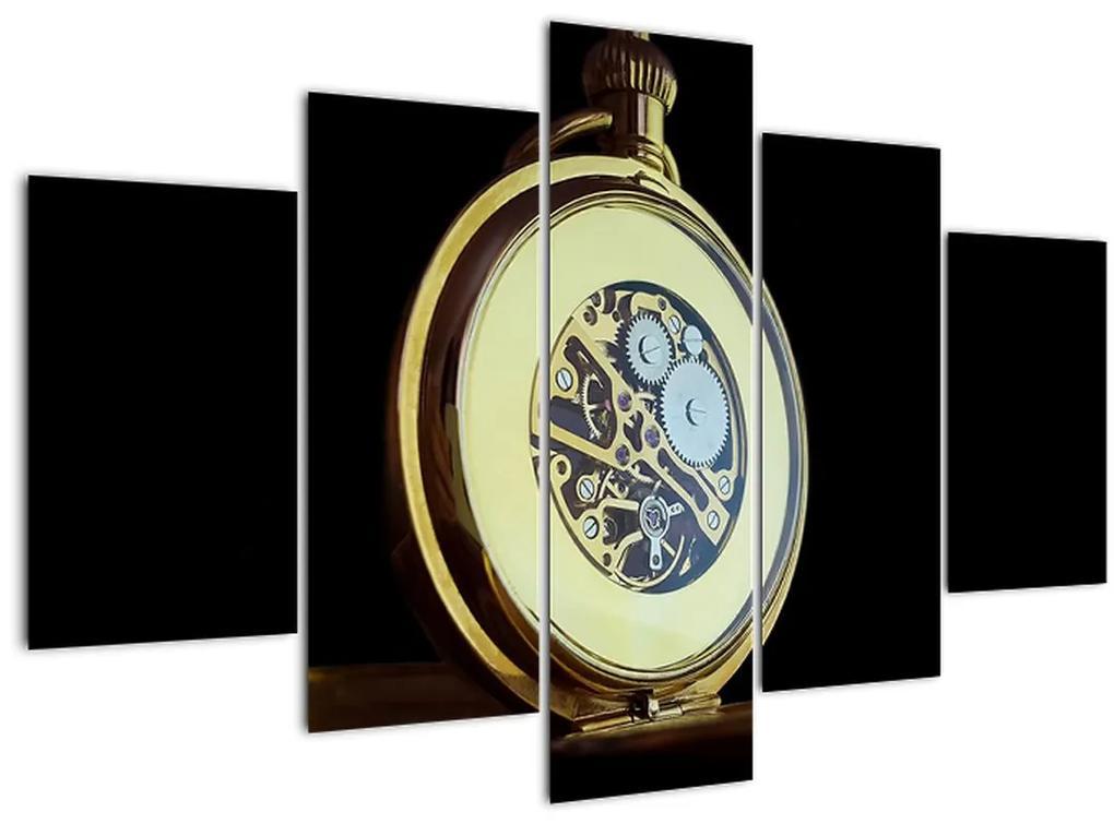 Arany zsebóra képe (150x105 cm)