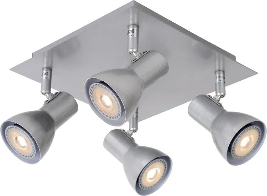 Lucide Lucide 17942/20/36 - LED spotlámpa LAURA-LED 4xGU10/5W/230V szürke LC1305