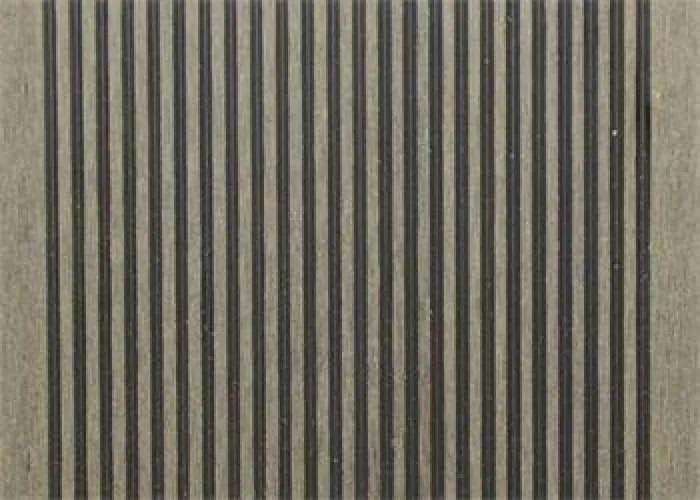 G21 kültéri burkolólap  2,5*14*300cm, Eben, matt WPC - (6390993)