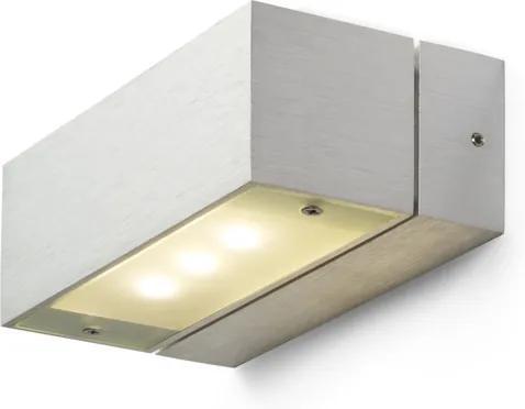 RENDL R10154 ADVANTAGE LED fali lámpa, up-down alumínium