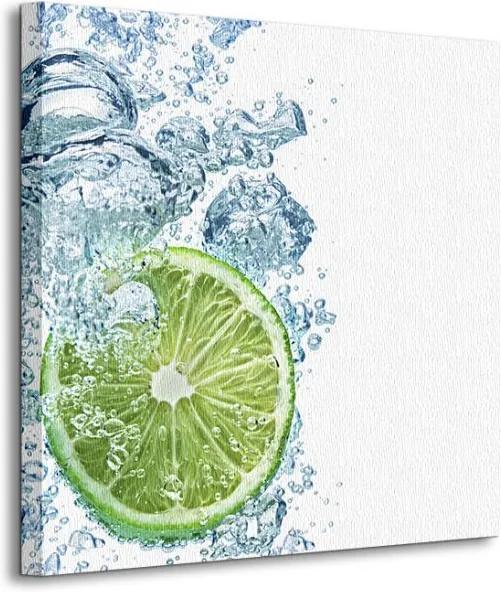 Vászonkép Úszó lime DeVIce 40x40cm CKS0569