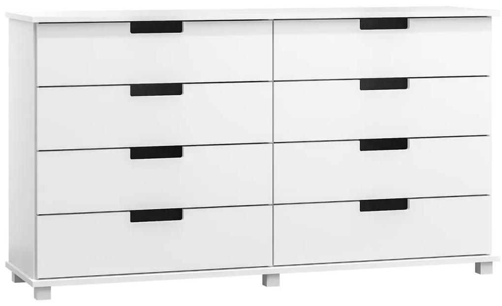 AMI butorok Komoda Modern bílá 180x80x47 cm
