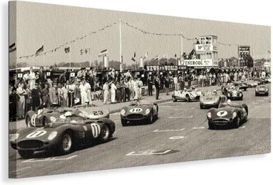 Vászonkép Nagydíj (TT), Goodwood, 1959 Alexander Jesse 100x50cm WDC21615