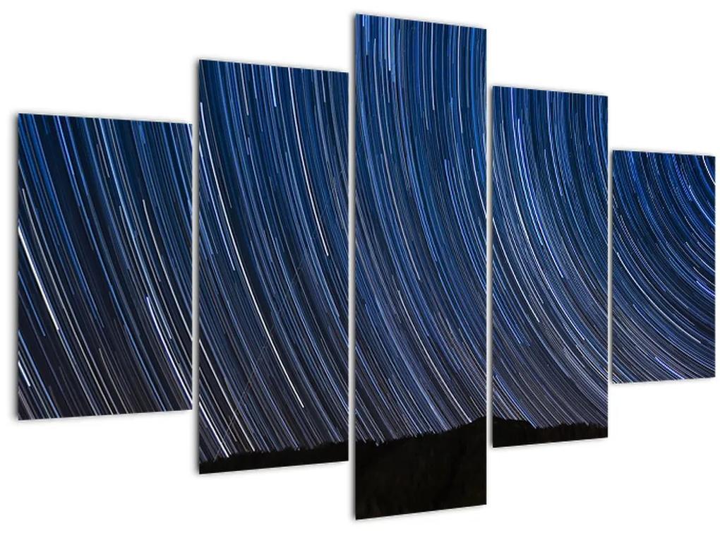 Éjszakai csillagok és az ég képe (150x105 cm)