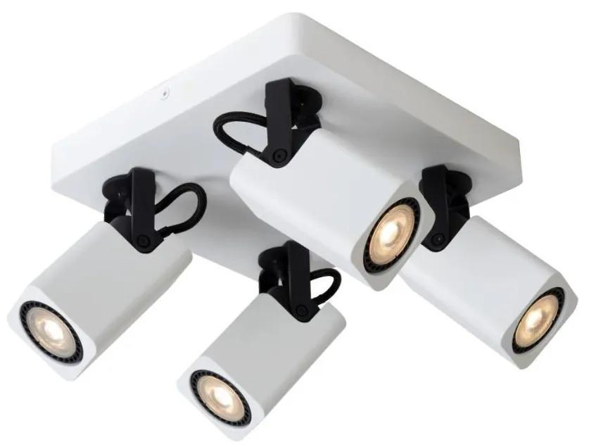 Lucide Lucide 33961/20/31 - LED spotlámpa ROAX 4xGU10/5W/230V fehér LC1859