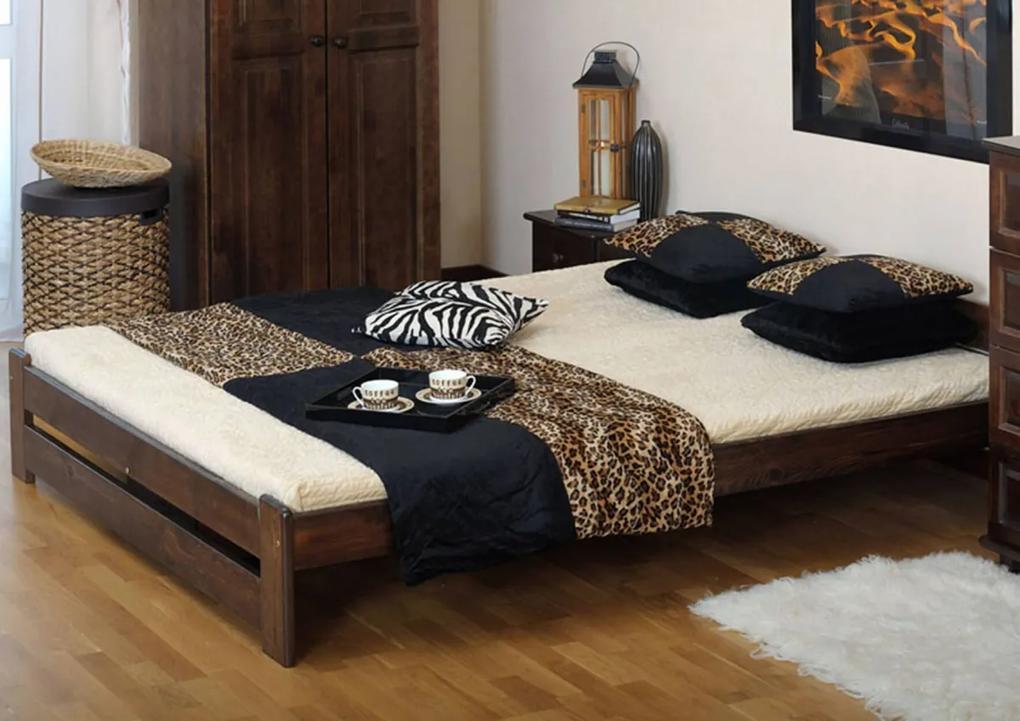Eoshop postel Niwa 160x200 ořech