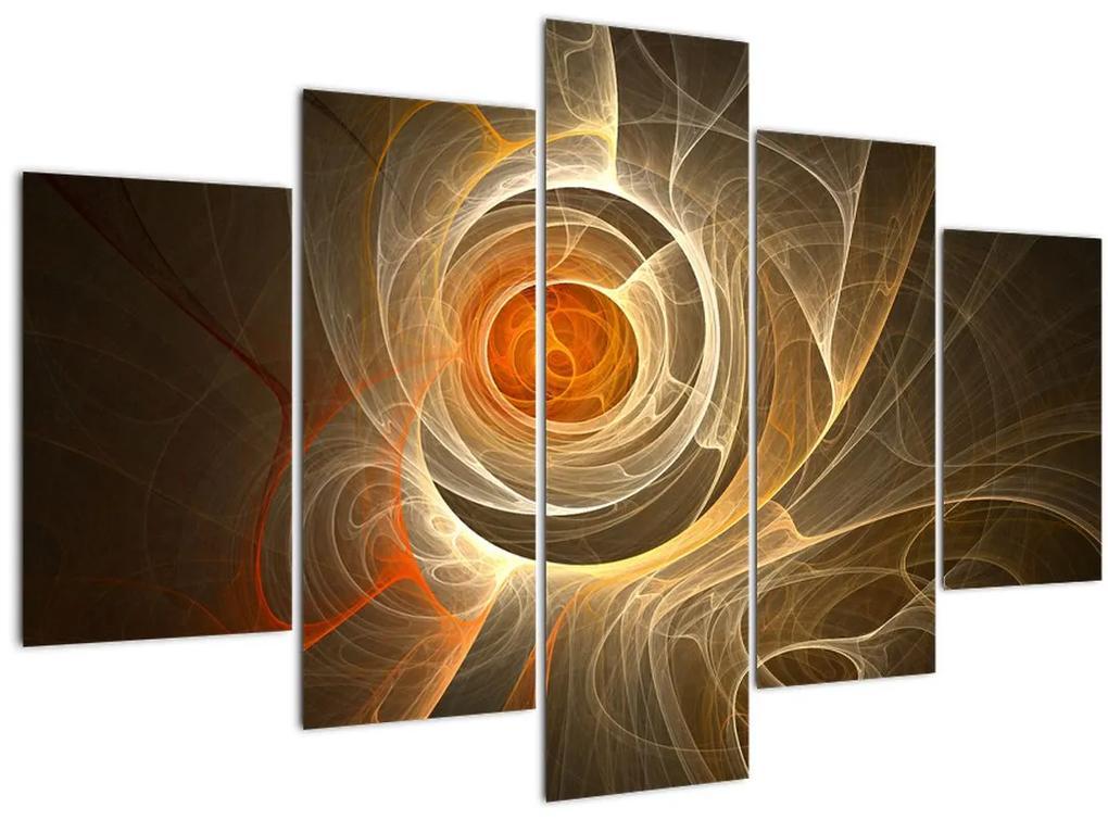 Absztrakciós kép (150x105 cm)