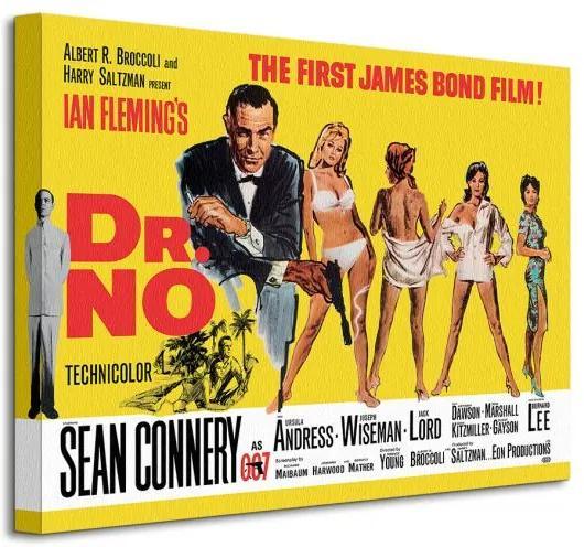 Vászonkép James Bond (Dr No - Yellow) 40x30cm WDC92007