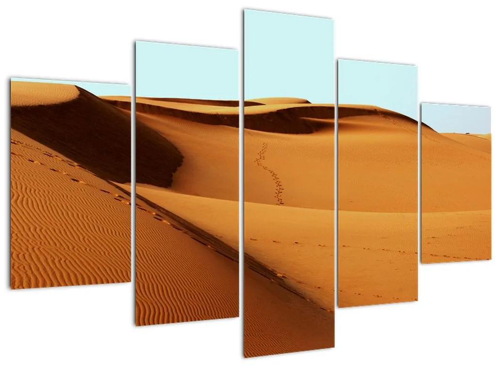 Kép - Mászni a sivatagban (150x105 cm)