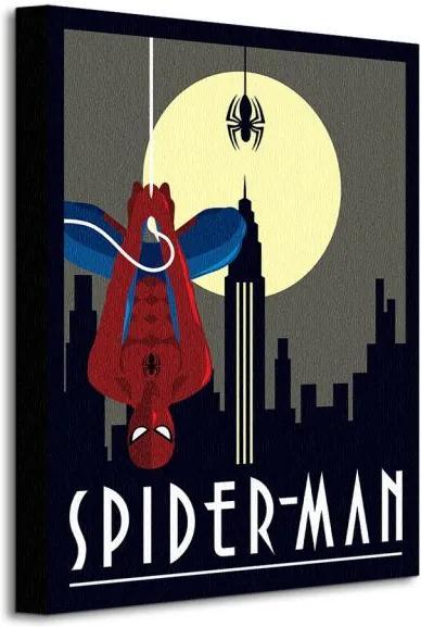 Vászonkép Marvel Deco (Spider-man Hanging) 30x40cm WDC92239