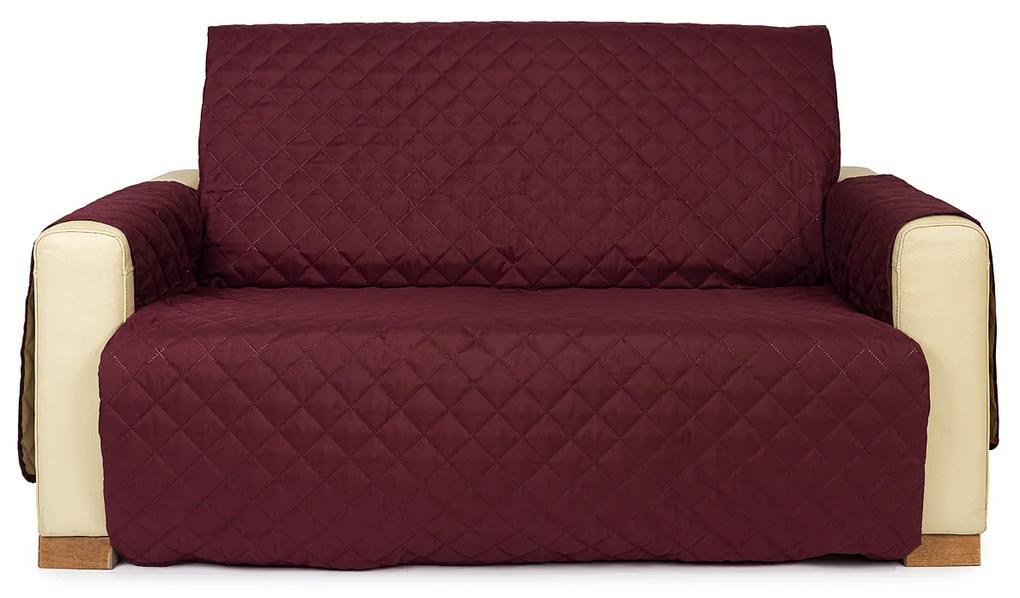 4Home Doubleface dupla fotelhuzat bordó/bézs, 140 x 220 cm, 140 x 220 cm