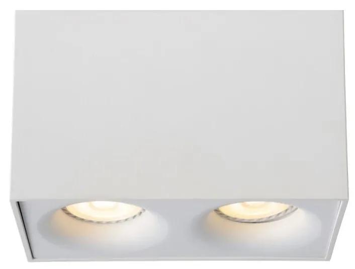 Lucide Lucide 09913/10/31 - LED spotlámpa BENTOO-LED 2xGU10/4,5W/230V fehér LC1043