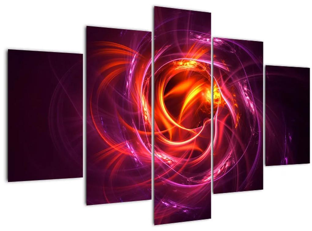 Ragyogó modern absztrakció képe (150x105 cm)