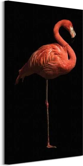 Vászonkép Magas flamingó Cano Marina 30x60cm WDC91076