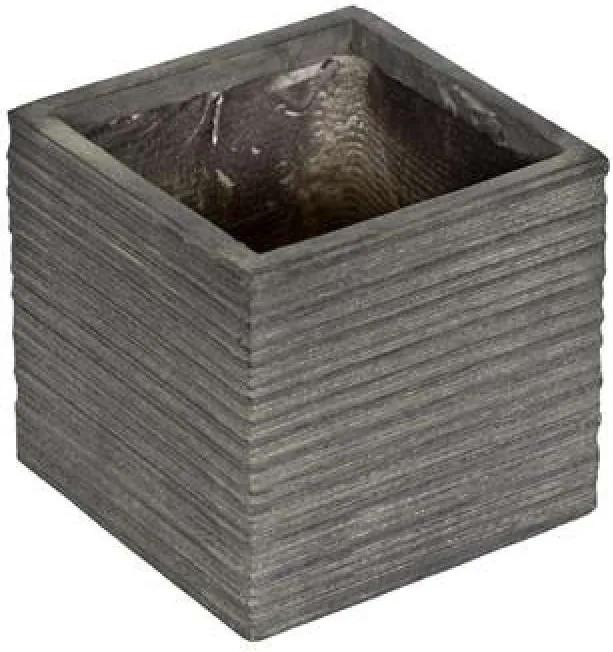 G21 Stone Cube virágcserép 24x24x23cm - (639259)