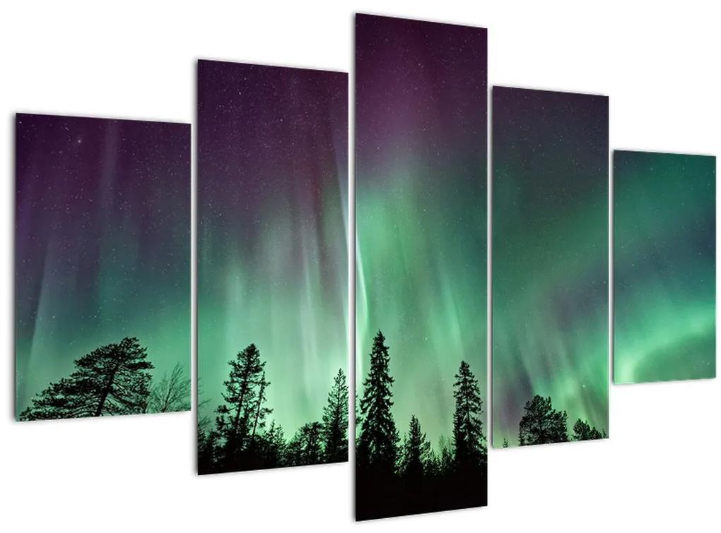 Északi fény képe (150x105 cm)