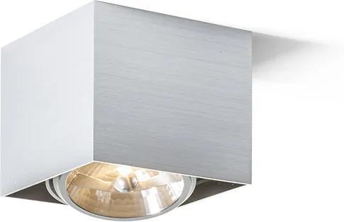 RENDL R10610 DEAN felületre szerelhető lámpatest, downlight szálcsiszolt alumínium