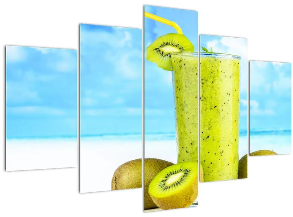 Kép - kiwi smoothie (150x105 cm)