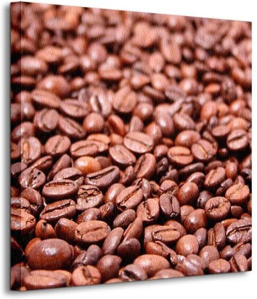 Vászonkép Pirított kávészemek Hp_photo 40x40cm CKS0425