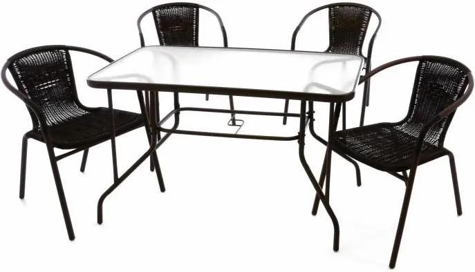 Kerti bútor készlet GARTH Barna