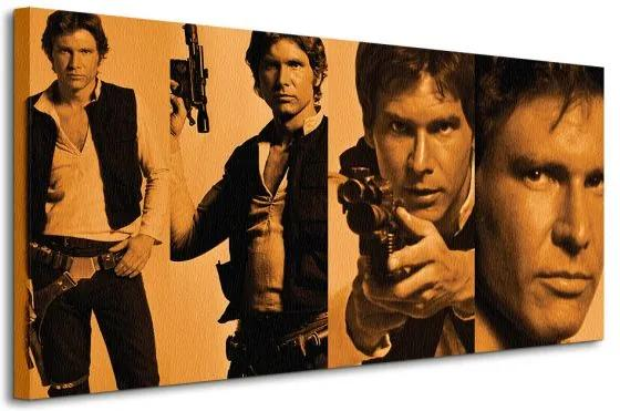 Vászonkép Star Wars (Han Solo Pose) 100x50cm WDC93062