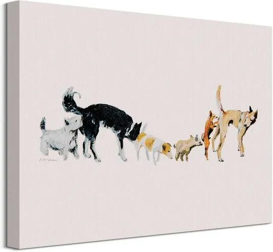 Vászonkép Kutyabarátságok Mcgovern Kathryn 40x30cm WDC92987