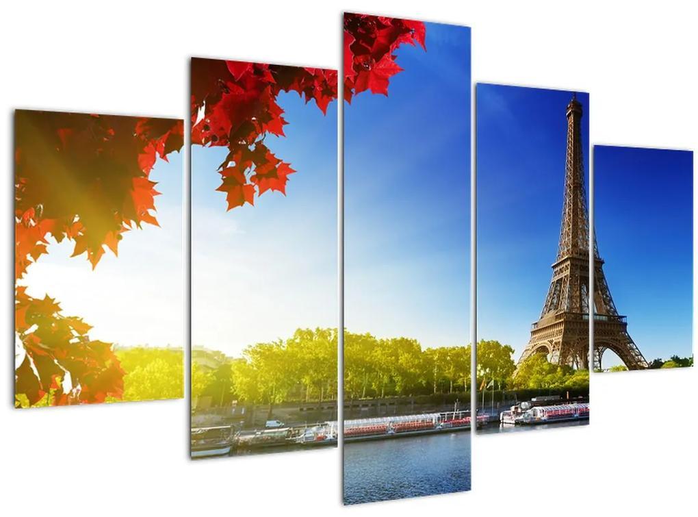 Kép - ősz Párizsban (150x105 cm)