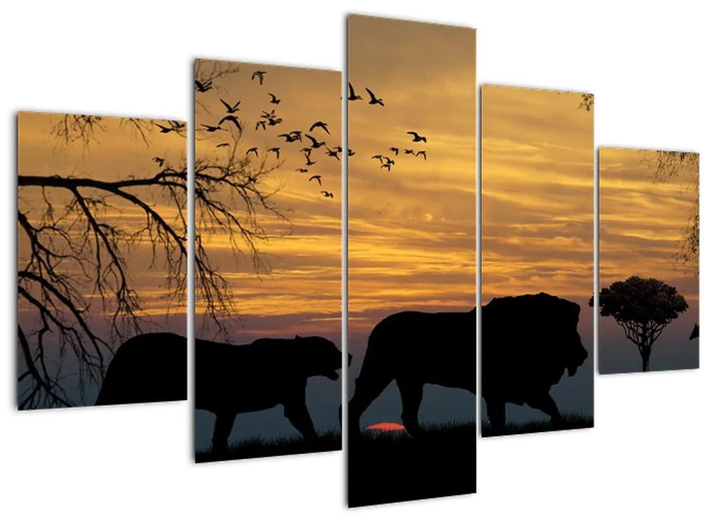 Safari képe (150x105 cm)