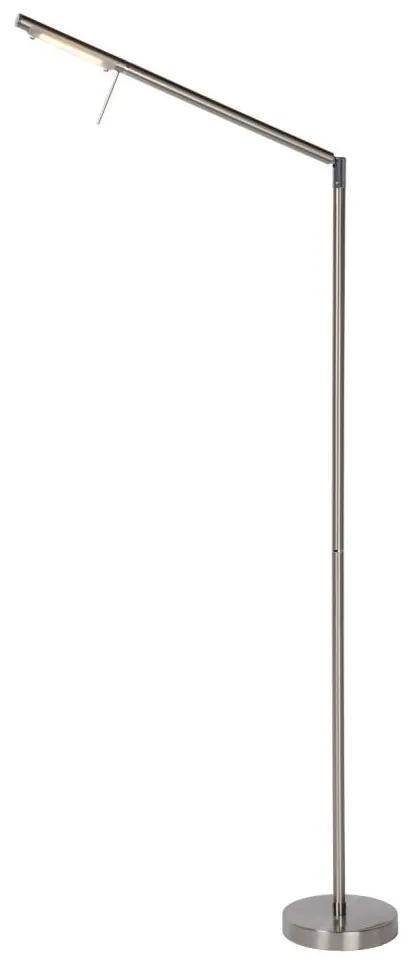 Lucide Lucide 12719/06/12 - LED állólámpa BERGAMO 1xLED/6W/230V króm LC1135
