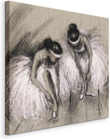 Vászonkép Baltt-táncosnők premierje Bowman Hazel 40x40cm WDC44711