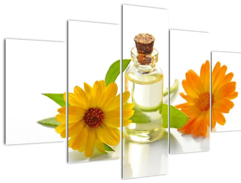 Virágos olaj képe (150x105 cm)
