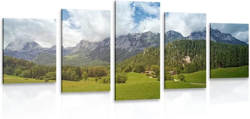 5 részes kép látványos Ausztria