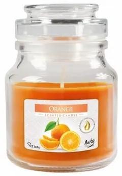 Illatos gyertya pohárban Narancs, 120 g