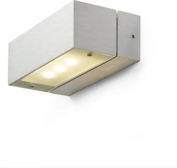 RENDL R10153 ADVANTAGE LED fali lámpa, up-down alumínium